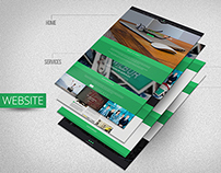 One Page Parallax Theme
