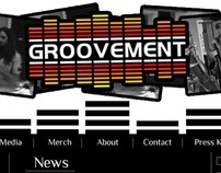 Groovment Band Website