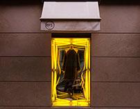 N15+JC DE CASTELBAJAC WINDOW DISPLAY. PARIS, 2013