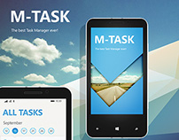 M-Task - Windows Phone application