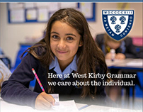 West Kirby Grammar School Advertising