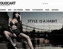 Duocart-Responsive Opencart Fashion website theme
