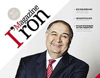 IRON MAGAZINE #1 / 2013