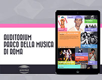 Auditorium Parco della Musica   New Website Proposal