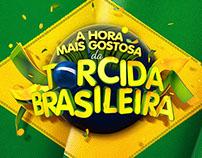 A HORA MAIS GOSTOSA DO DIA E DA TORCIDA BRASILEIRA