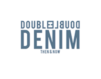 Double Denim magazine spreads