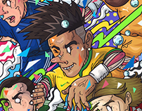 2014 BRASIL WORLD CUP SUPER STARS