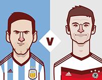 World cup stars 2014