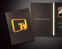 Orange TV launch event invitation