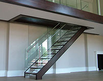 Dropmore Park Contemporary Finished Staircase