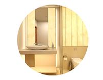Onix Marble Bathroom design