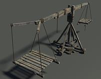 Medieval crane