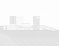 Blocos Multi-habitacionais na cidade