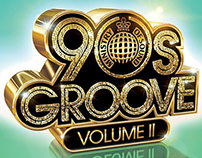 90s Groove Volume II Cover