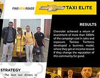 Chevrolet. Taxi Elite Taxistas Twitteros