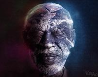 The Old Wise Man - Photoshop speedart video