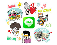 LINE Stickers - 2nd Pack -     A Summer Crew