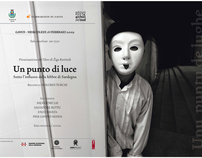 Un Punto di Luce (book cover) and poster