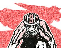 Cycling Tee Design