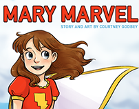 Mary Marvel fan comic