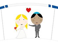 Invitaciones de Casamiento // Johi y Adri