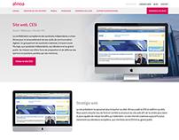 Alinoa - web site 2014