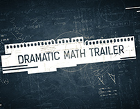 Dramatic Math Trailer After Effects Project