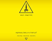 Wavys Hair Studio - Teaser One-Page Coming Soon Website