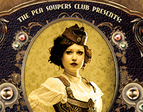 Steampunk Party Poster / Flyer