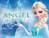 Frozen-themed Invitation