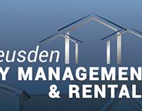 Job van Leusden Property Management Website & Logo