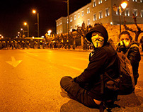 Syntagma Square Demonstrations 2012