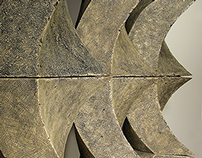 Freestanding Ceramic Modular Wall By Eric Pilhofer