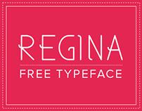 REGINA | Free Font