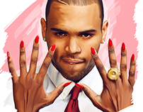 Chris Brown - Digital Painting