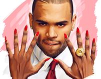 Chris Brown - Digital Painting