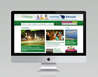 Portal Amazônia (2008 - 2012) - Redesign of Website