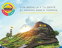 Medalla - Endless Summer - Promo Activation
