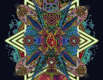 Heart Chakra Blooming Mandala