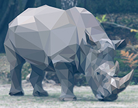 LOW-POLY RHINO