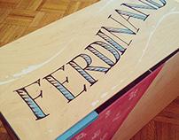 Ferdinand: 3-D Illustration Diorama