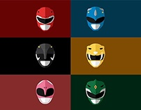 Power Rangers Complete Series Illustration