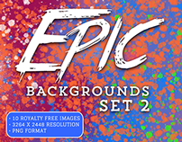 #PackADay - 7/15/15 - Epic Backgrounds Set 2