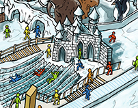 The SnowLand Map