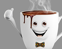 Teas & Coffees - Character Design