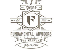 Fundamental Advisors Anniversary T-Shirt Design