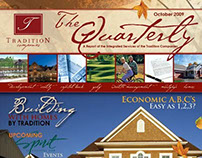 Quarterly Newsletter—Tradition Homes