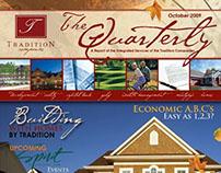 Quarterly Newsletter—Tradition Homes