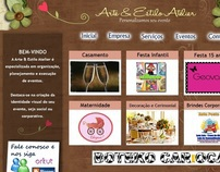 ARTE & ESTILO ATELIER Website