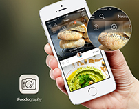 Foodography - App design concept